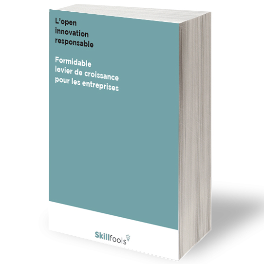 Couverture du livre blanc skillfools open innovation responsable